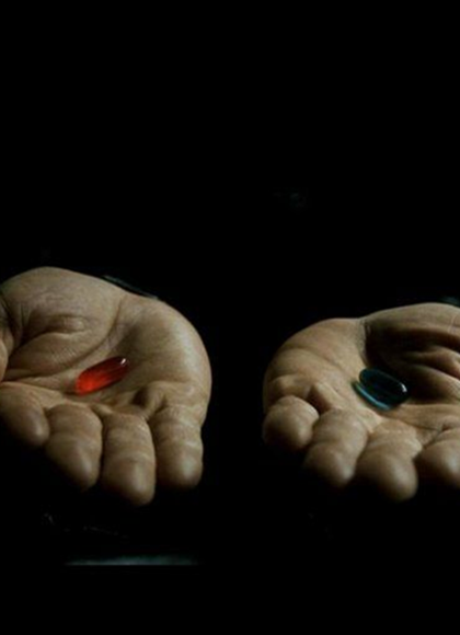 If businesses today want to succeed and be innovative they must dare to do something different. Dare to take the red pill.